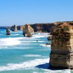 Twelve Apostles on the Australian coast.