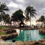 Kota Kinabalu resort, Borneo.