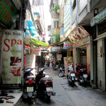 Back streets of Pham Ngu Lao, Ho Chi Minh CIty.