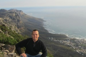 Table Rock Mountain in Cape Town, South Africa