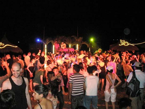 Party scene in Nha Trang, Vietnam.