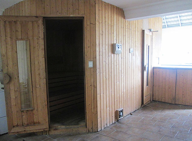 My deluxe sauna room in Da Lat.