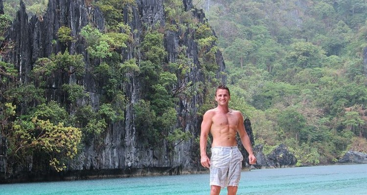 Danny Flood at El Nido, Philippines