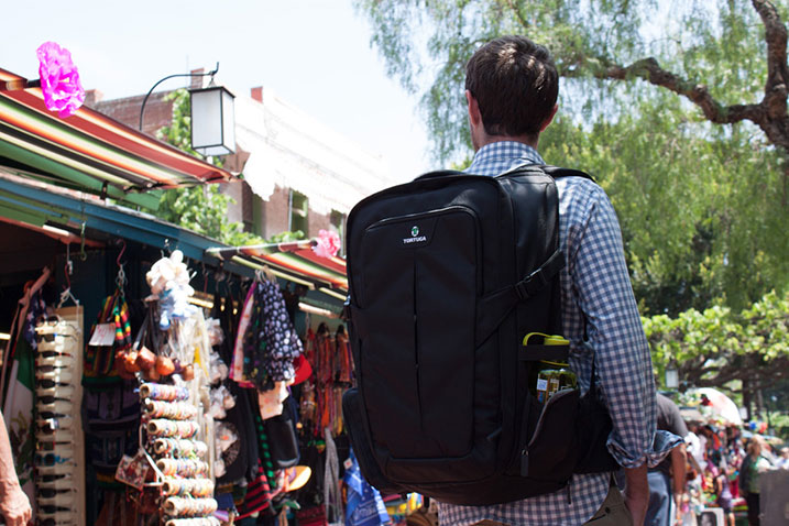 Interview with Fred Perrotta, founder of Tortuga Backpacks.