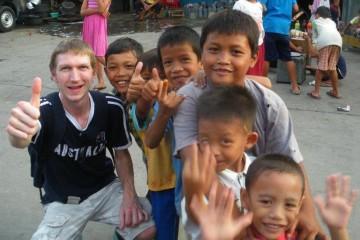 Jonny Blair in Jakarta.