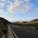 Scenery on the road to El Rosario, Baja California, Mexico.