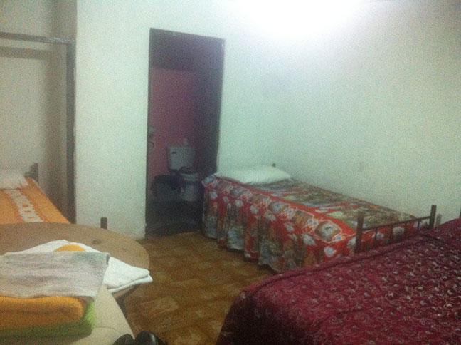 Beds in Catavina, Baja California.