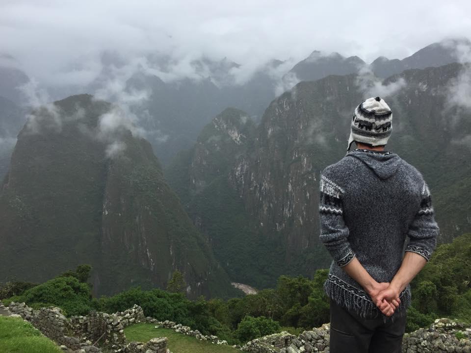 Justin Alexander at Macchu Picchu