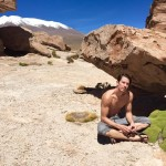Justin Alexander at Salar de Uyuni, Bolivia