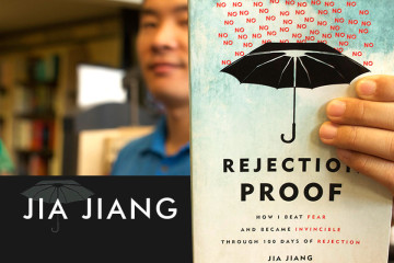 Jia Jiang, author of Rejection Proof.