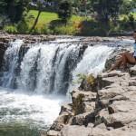 Hauru Falls, New Zealand.
