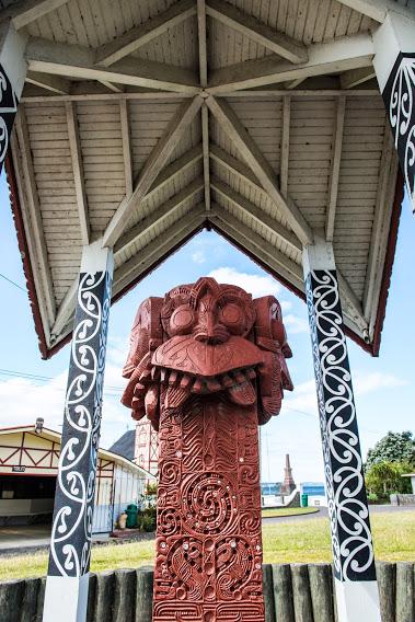 Maori Marae Of Ohinemutu