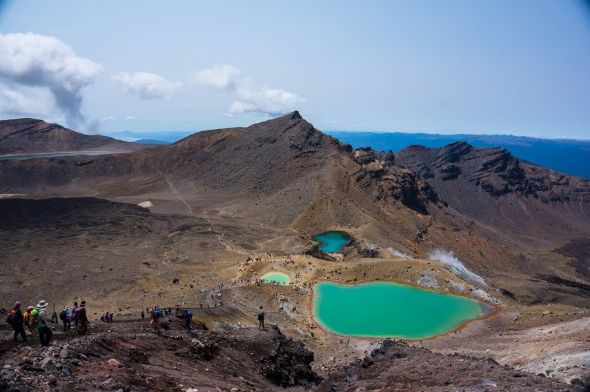New Zealand's Tongariro crossing