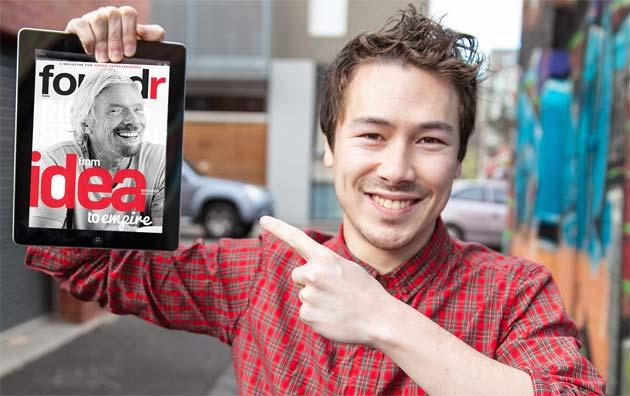 Nathan Chan, of Foundr Magazine.