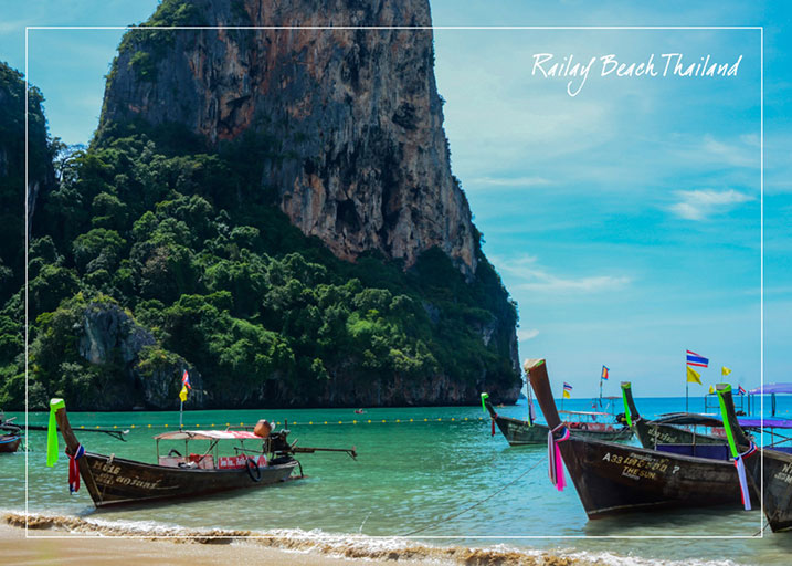 Railay Beach, Thailand. Photo by Danielle Werner.