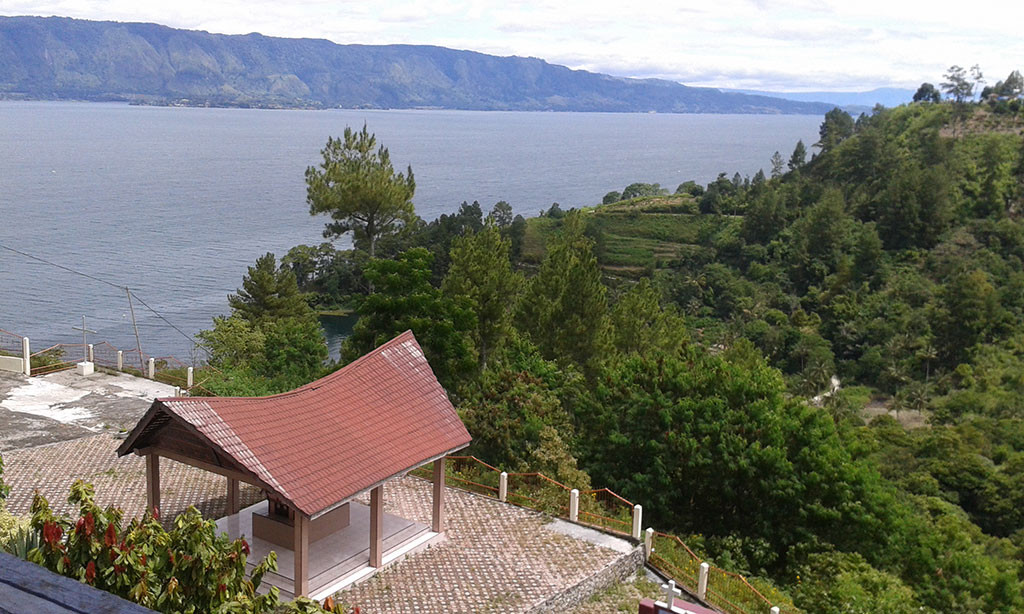 Lake Toba, North Sumatra.