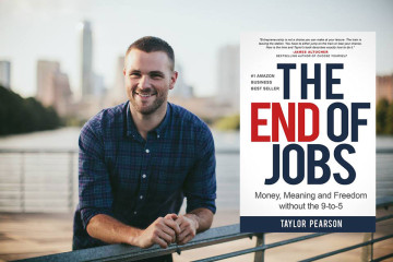 Taylor Pearson, author of the End of Jobs