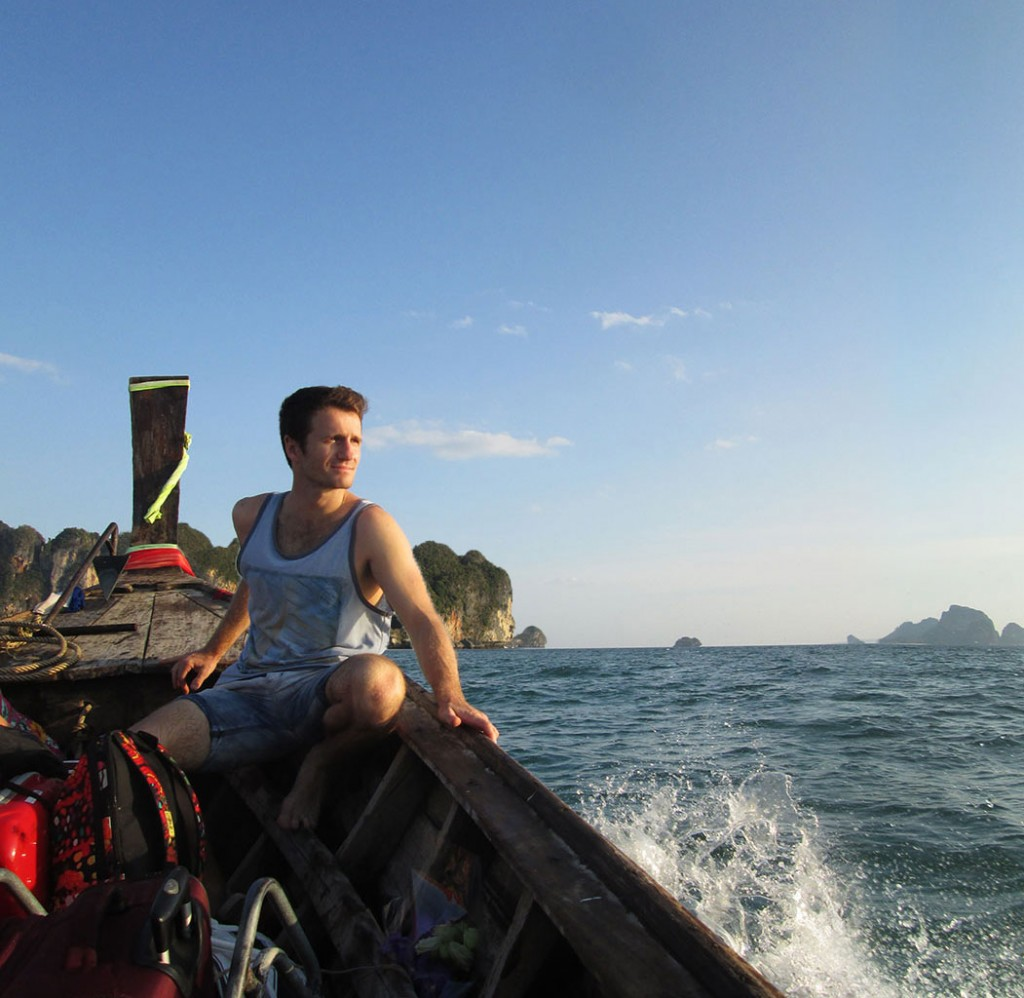 Danny Flood in Krabi, Thailand.