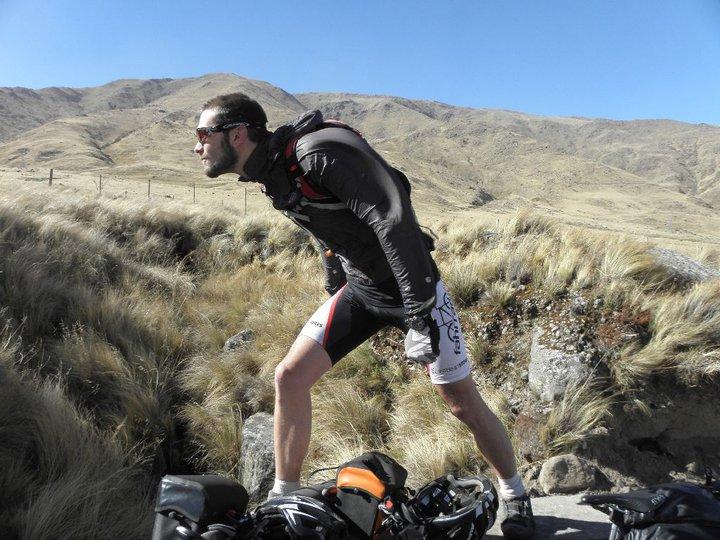 Patrick Martin Schroeder, the world bicyclist.