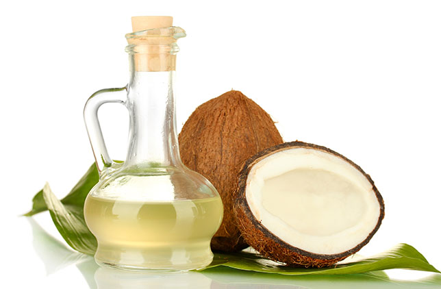 Coconut oil raises body temperature, increasing energy.