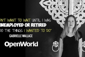 Gabrielle Wallace, founder of Laptop Teacher, talks with OpenWorld.