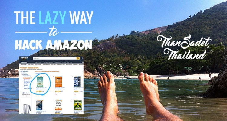 Five Weeks, Five #1 Best-Sellers: The Lazy Man's guide to