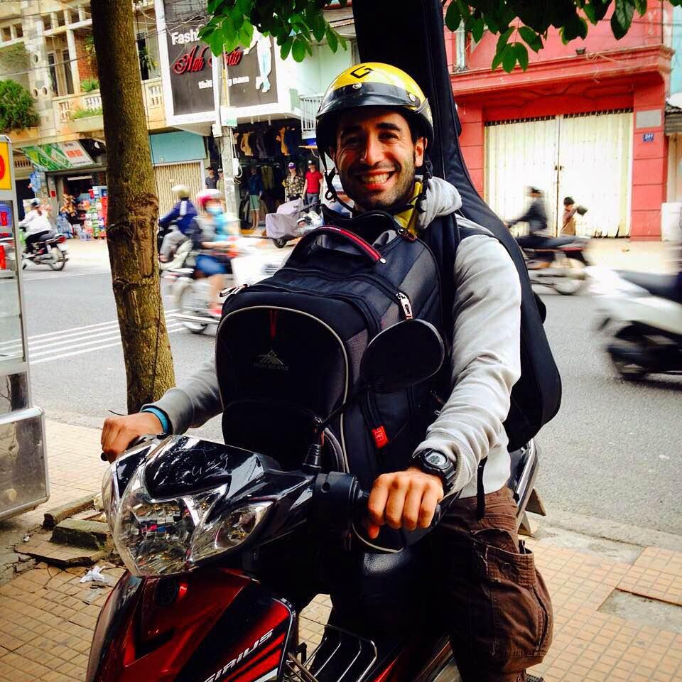 Jeremy Ginsburg in Ho Chi Minh city