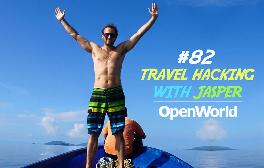 Travel and Travel Hacking - Magazine cover