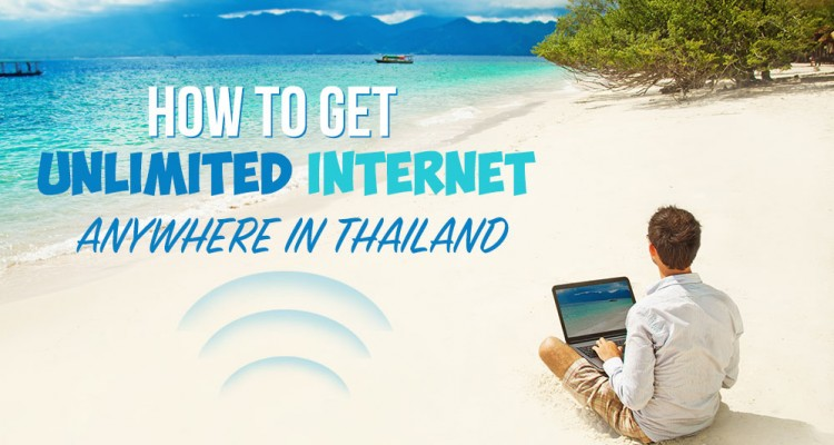 How to get unlimited internet in Thailand (Travel Hack