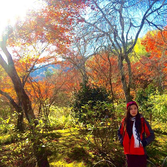 Nhung Thao, traveler from Vietnam.