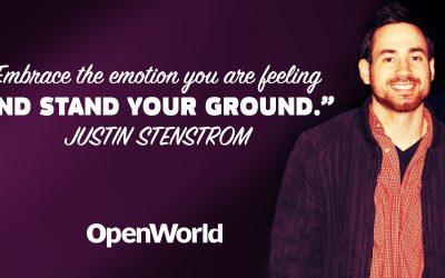 Justin Stenstrom, host of the Elite Man podcast.