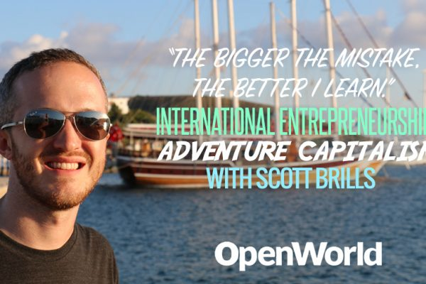 Scott Brills, international man of mystery.