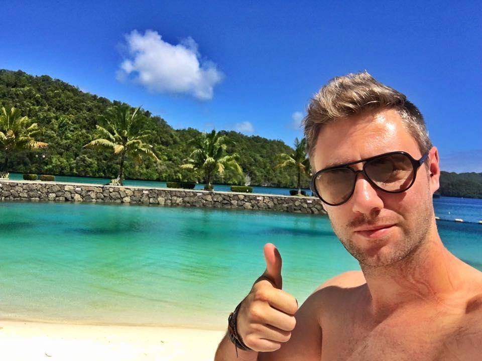 Johnny Ward, the travel blogger from The UK
