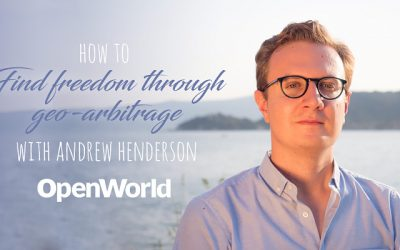 Andrew Henderson, founder of Nomad Capitalist.