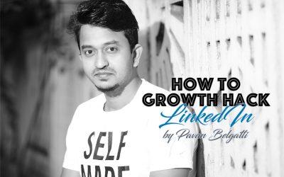 Growth Hacks for LinkedIn by Pavan Belagatti