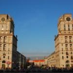 Architecture in Minsk.
