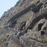 Longmen Grottoes near Luoyang.