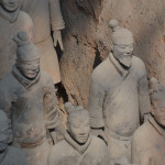 Terracotta Army of Qin Shi Huang, first emperor of China.