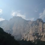 "Mt Huashan, the ""Flower Mountain"""