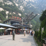 Base of Mt Huashan