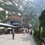 Base of Mt Huashan