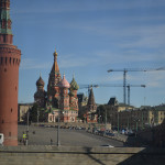 Buildings of Moscow.