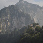 "Mt Huashan, the ""Flower Mountain"" of China."