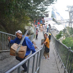 Stairs of Mt Huashan.