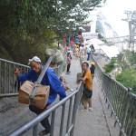 Stairs of Mt Huashan.