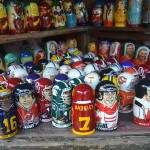 Russian gift store.