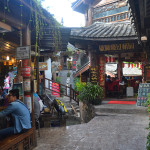 Streets of Lijiang, China.