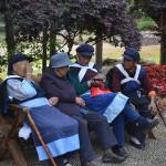 Naxi people in Lijiang.