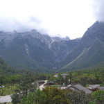 Baisha, a Naxi town in Yunnan.