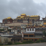 Songzanlin Monastery of Yunnan, China.
